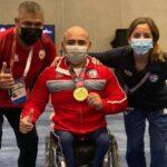 Juan Carlos Garrido y Javier Jiménez entregan dos nuevas medallas de oro para Chile en Colombia