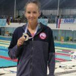 Kristel Köbrich se quedó con la medalla de oro en el Sudamericano de Deportes Acuáticos