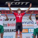 Martín Vidaurre se tituló campeón panamericano Sub 23 de Mountain Bike