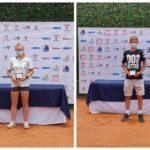Martina Pavissich y Benjamín Torrealba se titularon campeones de la Copa Indervalle