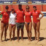 Chile cayó en las semifinales de la Continental Cup Femenina de Vóleibol Playa