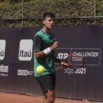 Tomás Barrios clasificó a la final del Challenger de Santiago