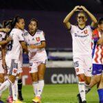 Universidad de Chile ganó, goleó y clasificó a los cuartos de final de la Copa Libertadores Femenina