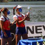 Antonia y Melita Abraham ganan medalla de oro en Italia