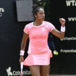 Daniela Seguel logra el tercer mejor triunfo de su carrera y avanza en el WTA de Bogotá