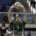 Esteban Villarreal alcanzó el subcampeonato del vóleibol español junto al Unicaja
