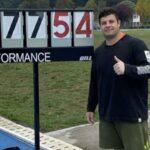 Gabriel Kehr clasificó a los Juegos Olímpicos de Tokio con nuevo récord nacional