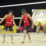 Los primos Grimalt cayeron en su debut en México