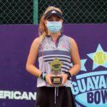 Martina Pavissich se tituló campeona del G1 Guayaquil Bowl