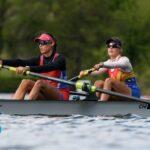 Antonia y Melita Abraham consiguieron el mejor resultado nacional en un difícil Preolímpico de Remo