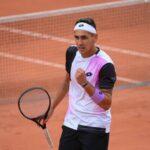 Alejandro Tabilo debutó con un triunfo en la qualy de Roland Garros
