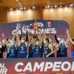 Atlético Puerto Varas se tituló campeón de la Copa Chile de Básquetbol