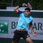 Tomás Barrios cayó en la segunda ronda de la qualy de Roland Garros