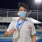 El joven nadador Eduardo Cisternas clasificó a los Juegos Olímpicos