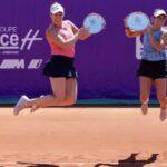 Alexa Guarachi y Desirae Krawczyk se titularon campeonas de dobles en el WTA 250 de Estrasburgo