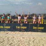 Vorpahl y Rivas mantienen el liderato del Circuito Nacional de Vóleibol Playa
