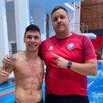 Vicente Almonacid sumó la cuarta medalla chilena en el Open Europeo de Para Natación