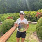 Antonia Matte obtuvo el tercer lugar en el Rolex Girl Junior Championship
