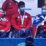 Con una medalla de oro se cerró la actuación del Para Powerlifting chileno en Dubai