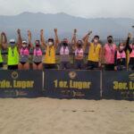 Vorpahl / Rivas y Zavala / Lammel se acercan al título del Circuito Nacional de Vóleibol Playa 2021