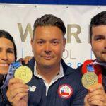 Francisca Crovetto y Héctor Flores ganaron medalla de oro en Croacia