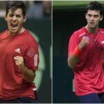 Cristian Garin y Tomás Barrios clasificaron a los Juegos Olímpicos de Tokio
