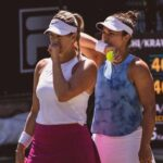 Alexa Guarachi y Desirae Krawczyk se despidieron del WTA 1000 de Montreal