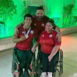 Team ParaChile de Para Powerlifting suma dos medallas en Dubai