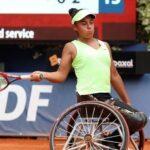 Macarena Cabrillana clasificó a la final de dobles en Francia