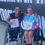 Macarena Cabrillana se tituló campeona de dobles en Italia