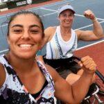 Macarena Cabrillana se quedó con el subcampeonato de dobles en Francia