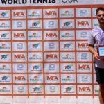 Miguel Pereira se tituló campeón de dobles del M15 Antalya