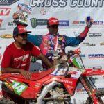 Ruy Barbosa logró su primer podio en el Campeonato GNCC