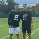 Tomás Barrios y Alejandro Tabilo se retiraron de la competencia de dobles en Meerbusch