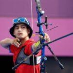 Andrés Aguilar cayó en la primera ronda eliminatoria del tiro con arco en Tokio 2020