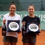 Bárbara Gatica se quedó con el subcampeonato de dobles del W25 Tarvisio