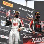 Benjamín Hites obtuvo su primer podio en el GT World Challenge de Europa 2021