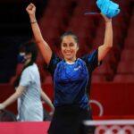 Paulina Vega debutó con un sólido triunfo en Tokio 2020