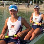 Antonia Liewald y Magdalena Nannig clasificaron a la final en el Mundial Junior de Remo