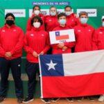 Chile celebró por partida doble en una nueva jornada del Sudamericano Sub 16 de Tenis