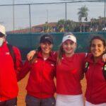 Chile debutó con un triunfo en el Sudamericano Femenino U16 de Tenis