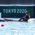 María José Mailliard fue segunda en la Final B del canotaje en Tokio 2020