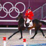 """Samuel Parot y """"Dubai"""" estuvieron cerca de clasificar a la final del salto ecuestre en Tokio 2020"""