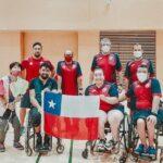 Team ParaChile se prepara en Mitaka para los Juegos Paralímpicos